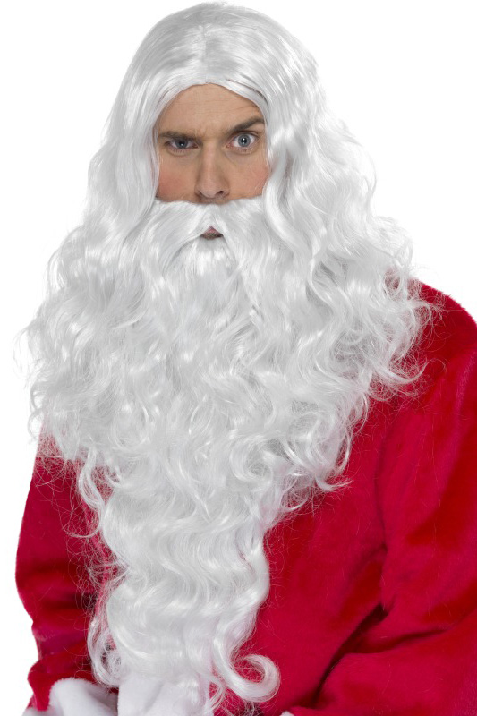 Photo du produit Perruque et barbe Père Noël adulte