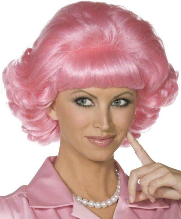 Photo du produit Perruque rose Grease femme