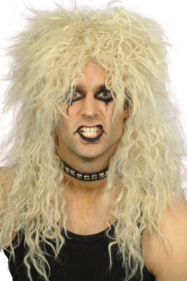 Photo du produit Perruque hard rocker adulte