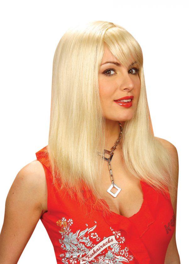 Photo du produit Perruque blonde à frange femme