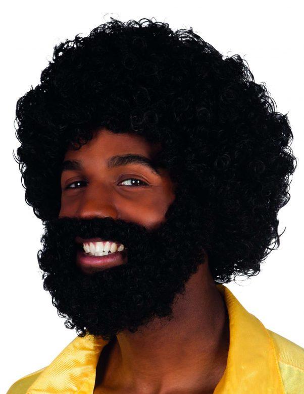 Photo du produit Perruque Mambo avec barbe et moustache Adulte