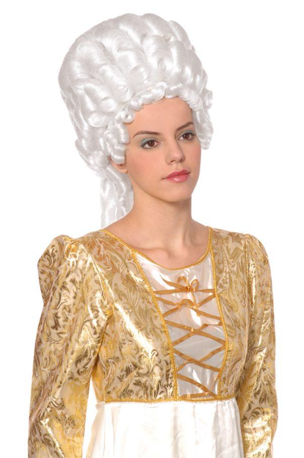 Photo du produit Perruque blanche Marie Antoinette femme
