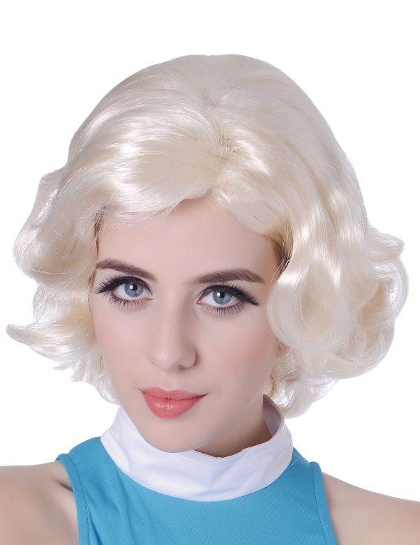 Photo du produit Perruque blonde Marilyn femme