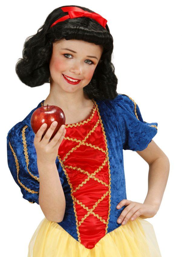 Photo du produit Perruque noire fille