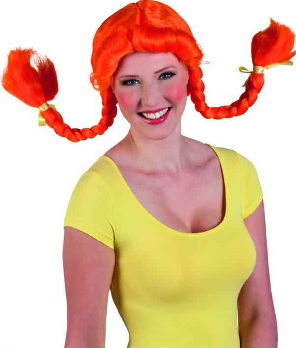 Photo du produit Perruque orange femme