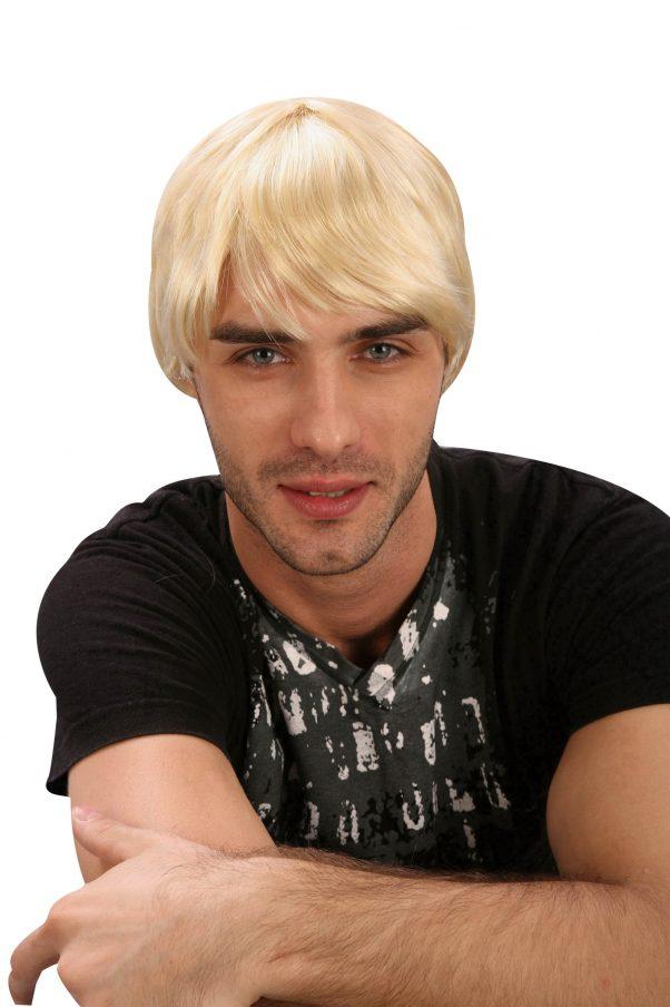 Photo du produit Perruque de playboy blond