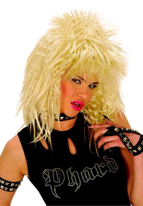 Photo du produit Perruque rock blonde adulte