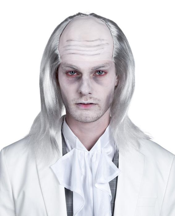 Photo du produit Perruque zombie blanc homme Halloween