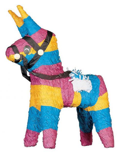Photo du produit Piñata Cheval de couleur
