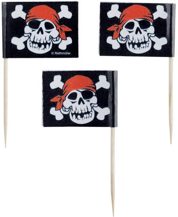 Photo du produit Piques cocktail pirate