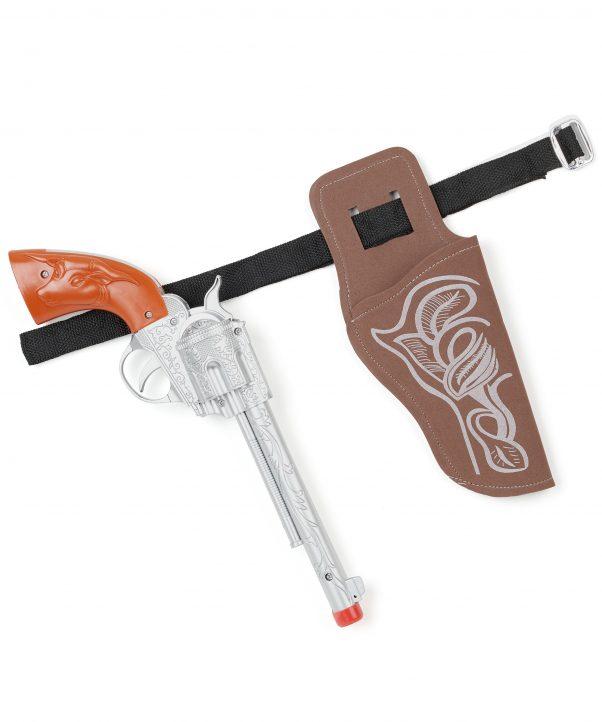 Photo du produit Pistolet et ceinture de cow-boy en plastique enfant