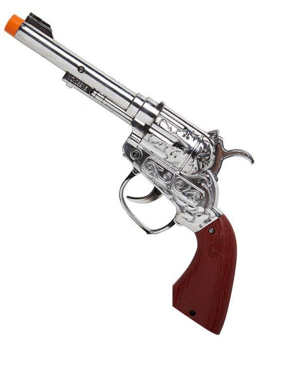 Photo du produit Pistolet sonore de cowboy en plastique