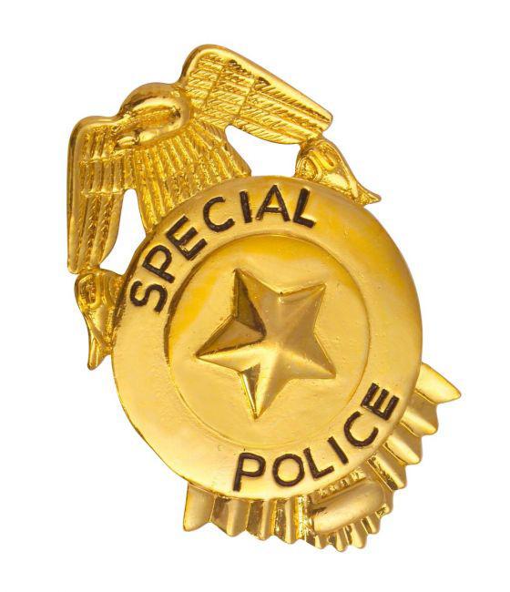 Photo du produit Badge de police or