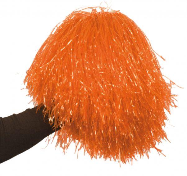 Photo du produit Pompon orange métallique