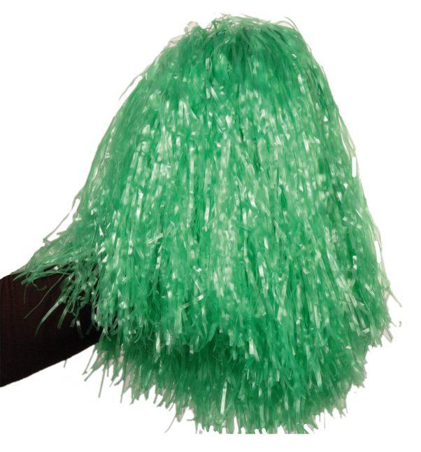 Photo du produit Pompon vert métallique