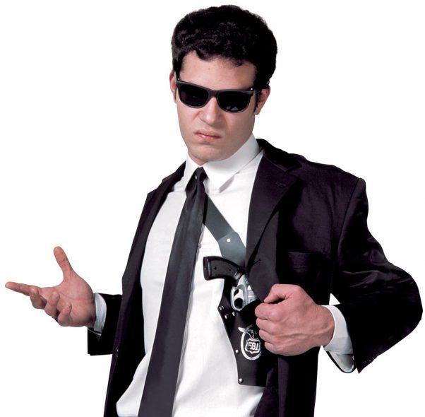 Photo du produit Porte revolver FBI adulte en plastique