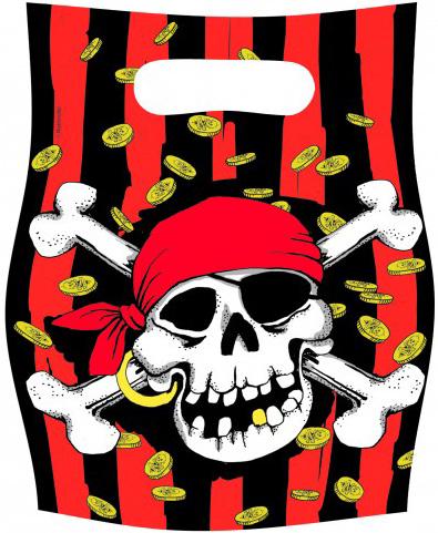 Photo du produit Sacs de fête pirate
