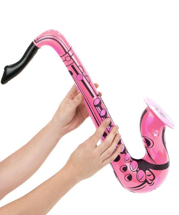 Photo du produit Saxophone gonflable rose