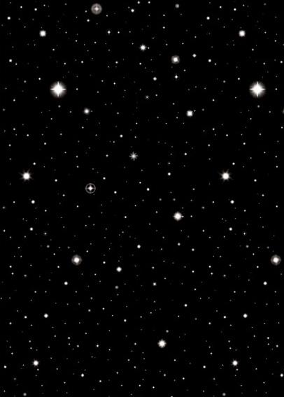 Photo du produit Décoration murale nuit étoilée 1.2 x 12.2 m