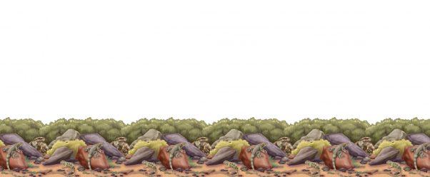 Photo du produit Décoration murale reptiles
