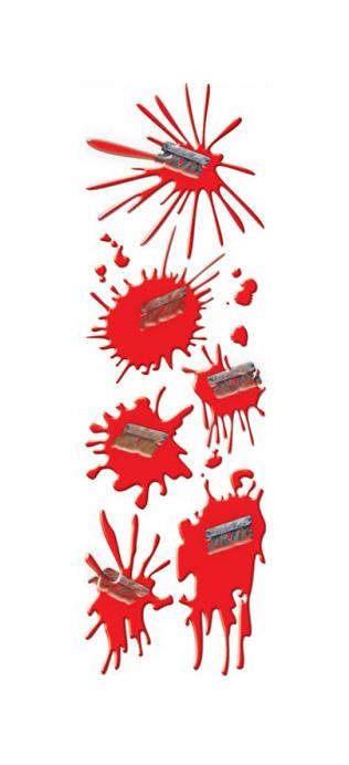 Photo du produit Stickers taches de sang
