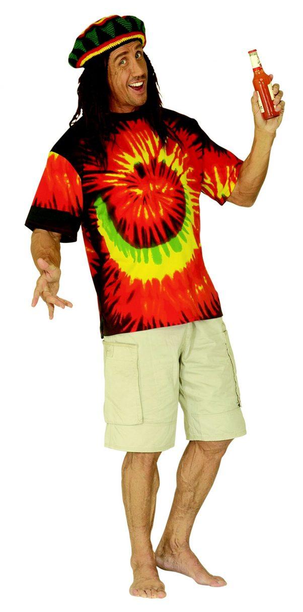 Photo du produit Déguisement rasta hippie adulte