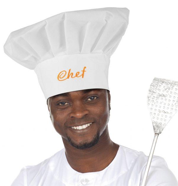 Photo du produit Toque de chef cuisinier adulte