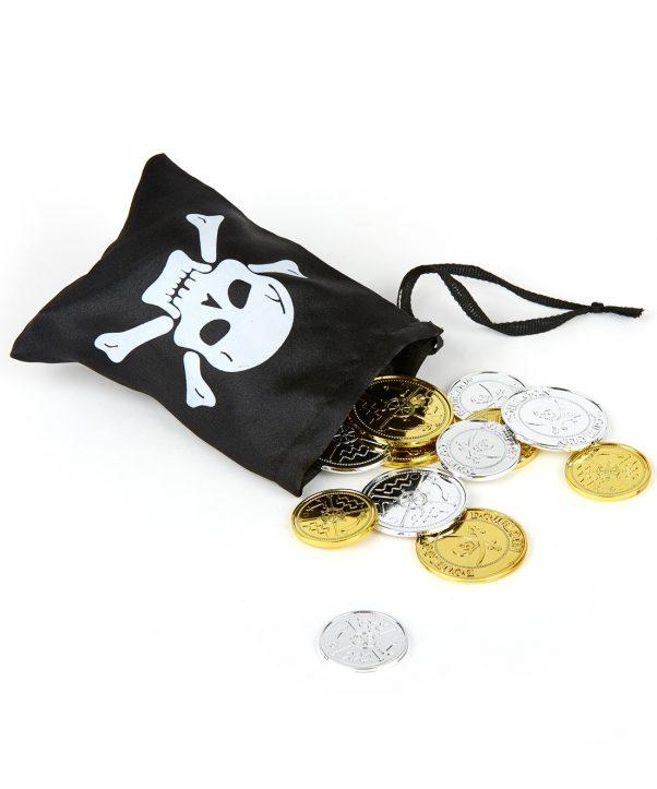 Photo du produit Trésor pirate avec sa besace