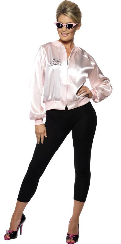 Photo du produit Déguisement Grease Pink Ladies années 50 femme