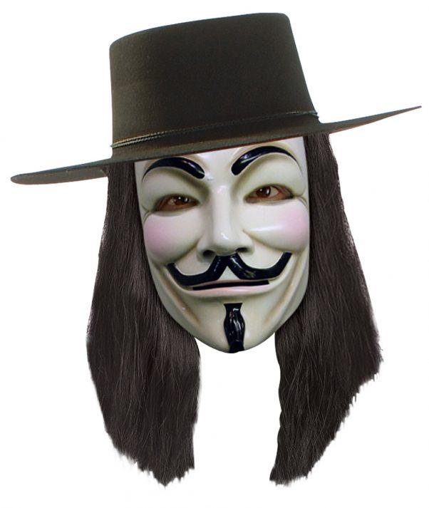 Photo du produit Perruque V pour Vendetta adulte